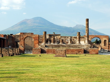 The Basilica - Pompeii archaelogical excavations