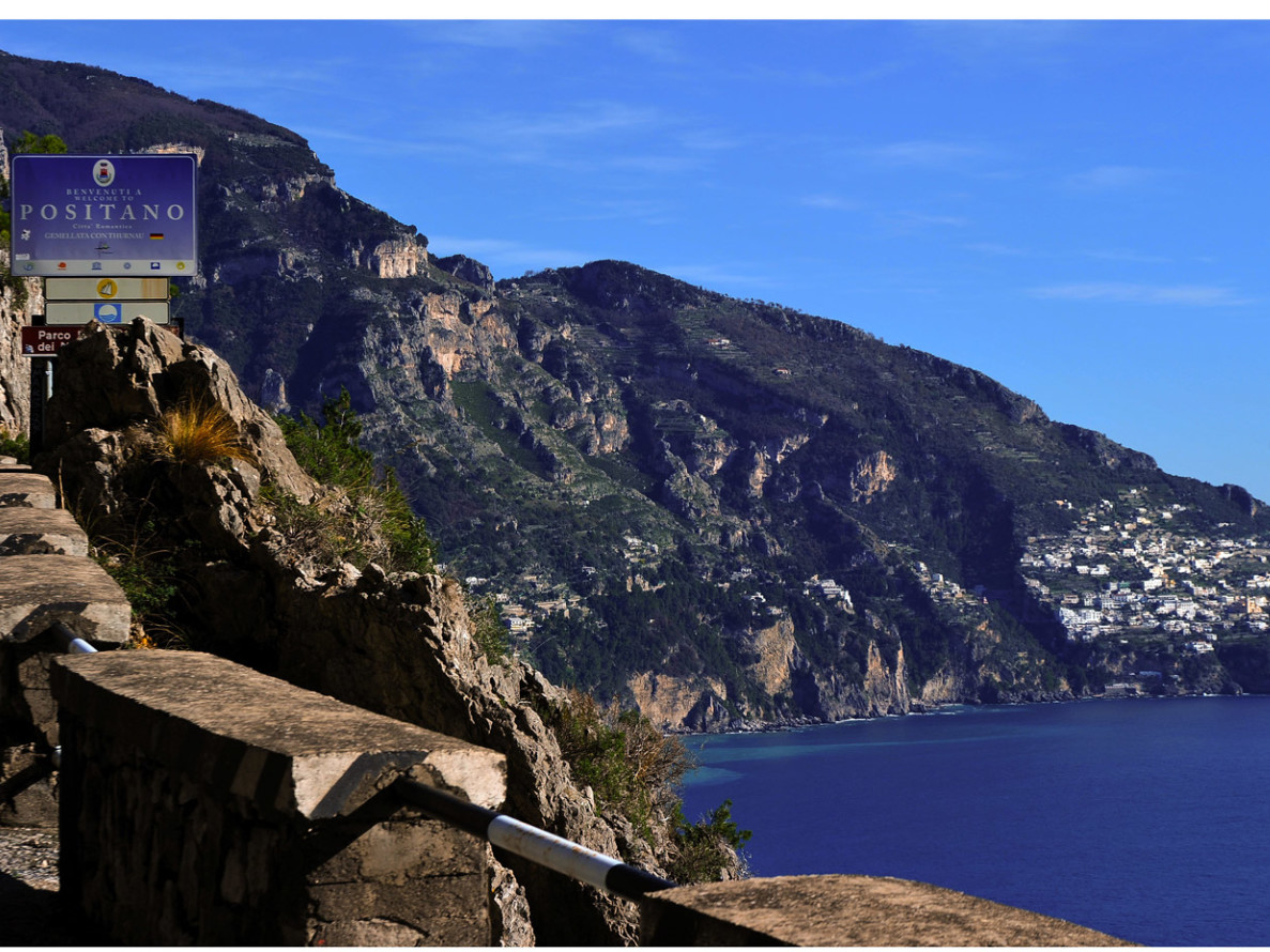 Tour Amalfi coast - Beautyful view from Amalfi coast road