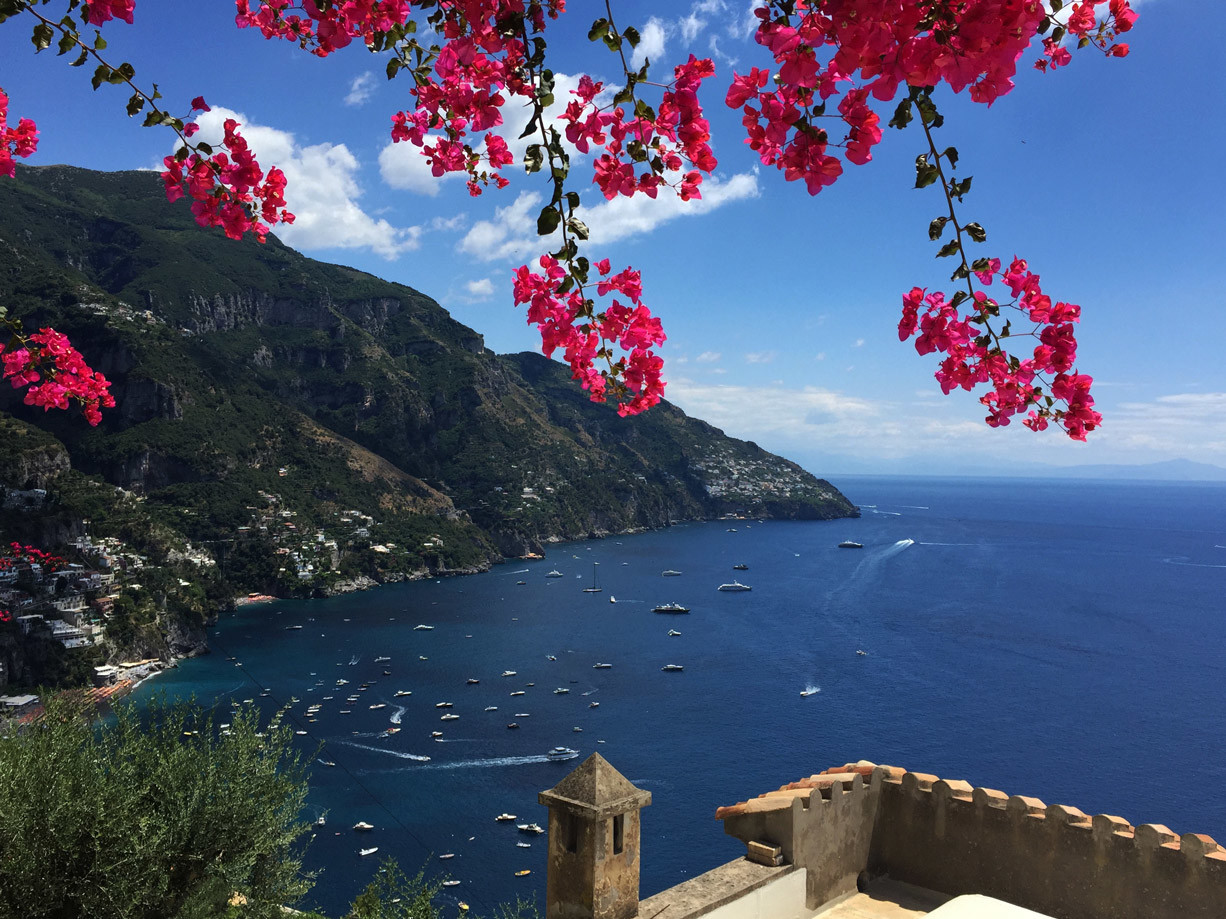 Tour Amalfi coast - Positano from the route