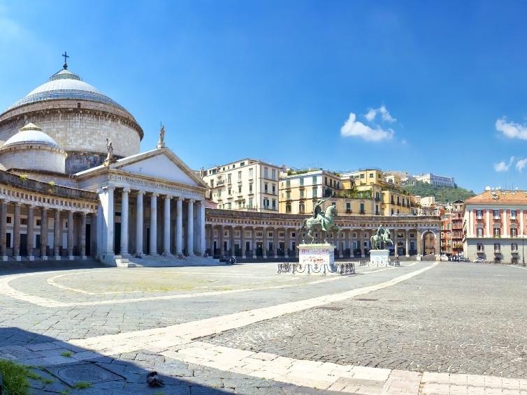 Naples private tour - Plebiscito Square