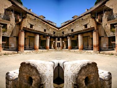 Shore excursion Pompeii Vesuvius Herculaneum from Sorrento - Herculaneum