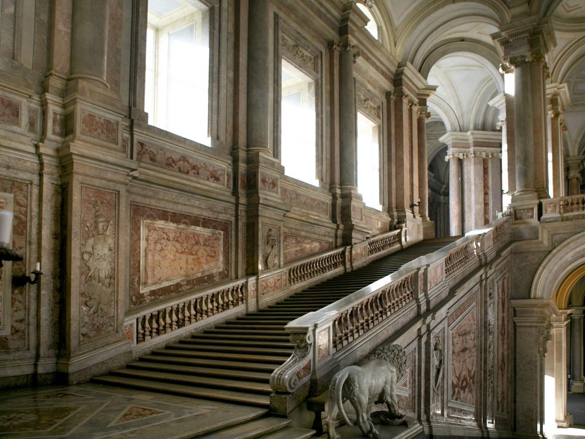 Caserta Royal palace tour - The interiors of the Palace