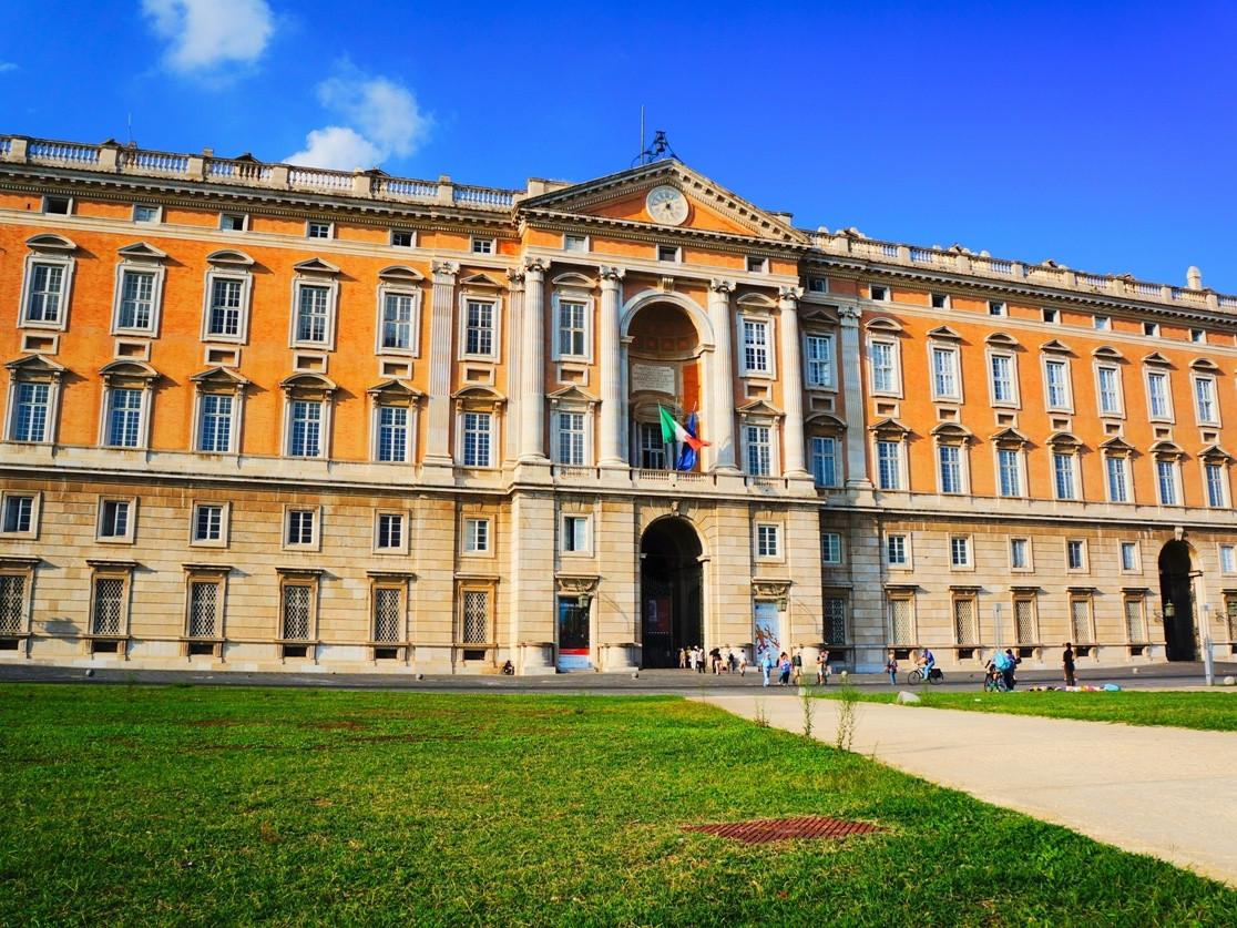 Caserta Royal palace tour - The external facade of the Palace