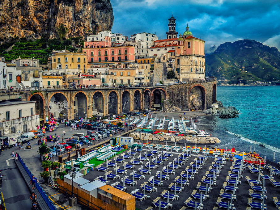 Tour Amalfi coast - Atrani beach