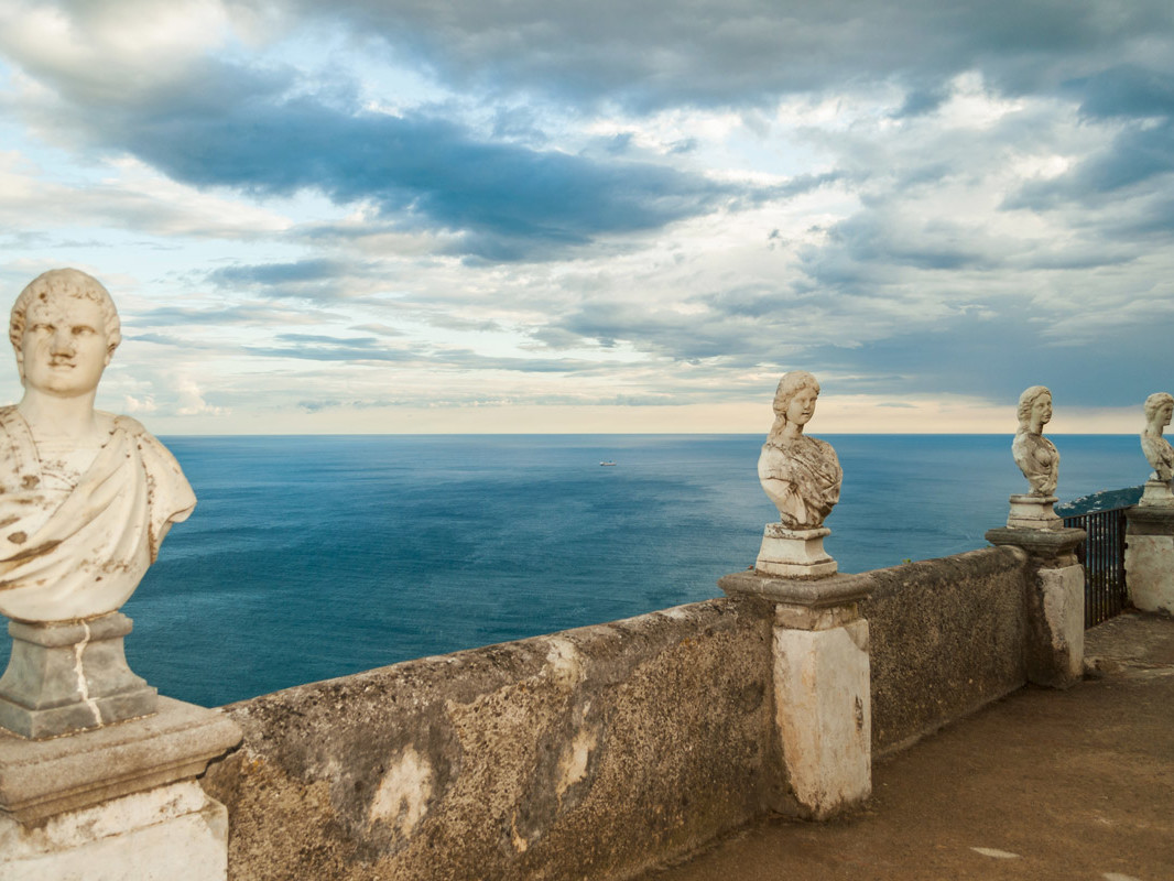 Tour Amalfi coast - Ravello, Terrace of Infinity, Villa Cimbrone